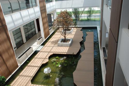 R & D center interior